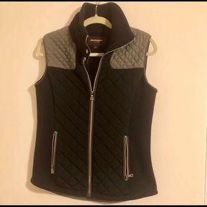 Johnston & Murphy Navy/Gray Collared Vest